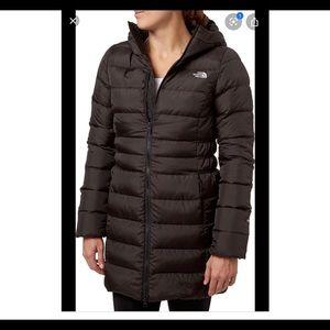 North face Black Puffer Coat